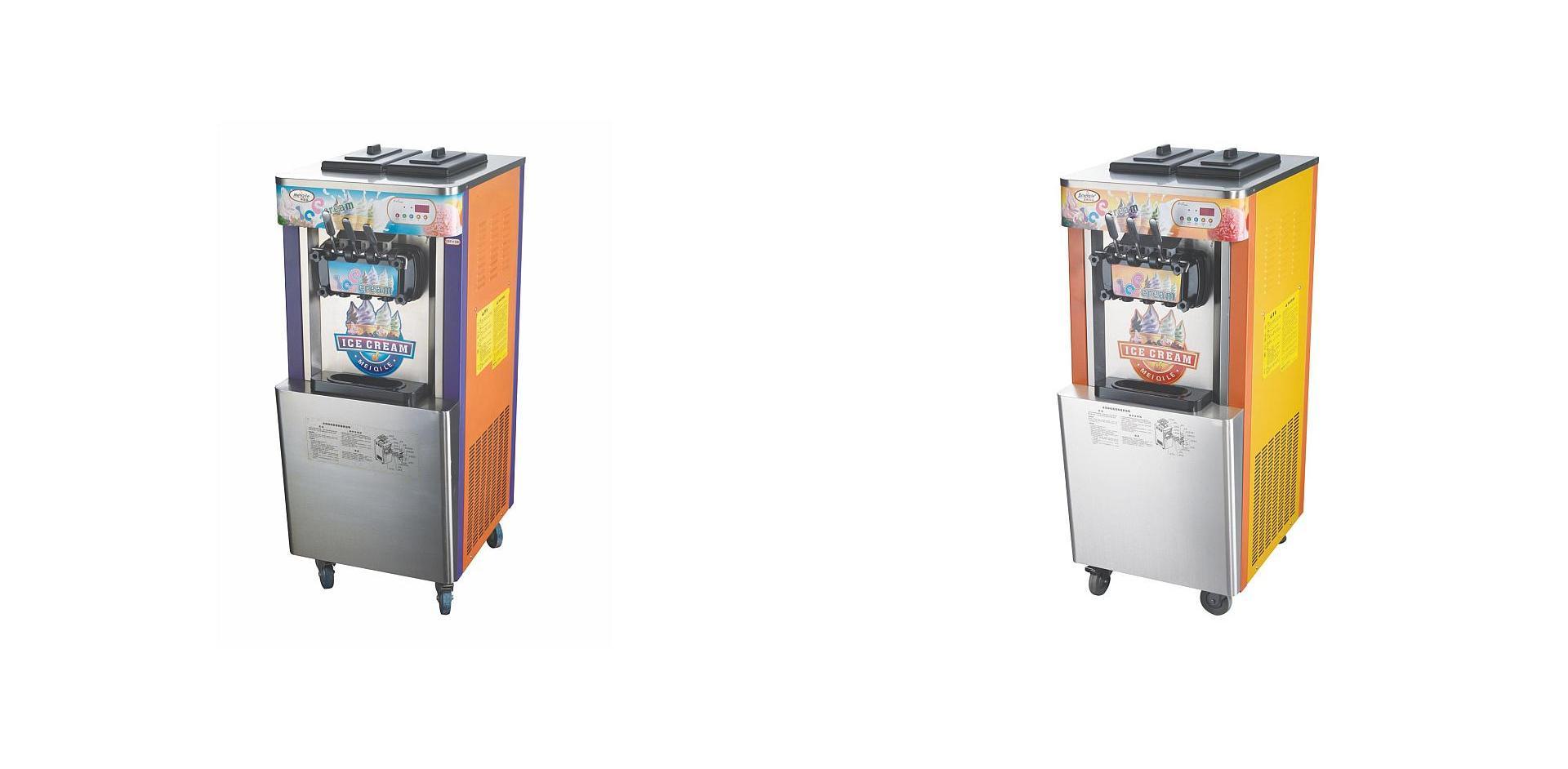Utcai automata lágyfagylaltgépek
