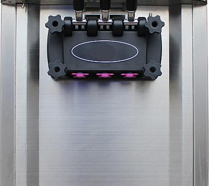 Asztali automata lágyfagylalt gép 2 + 1 íz